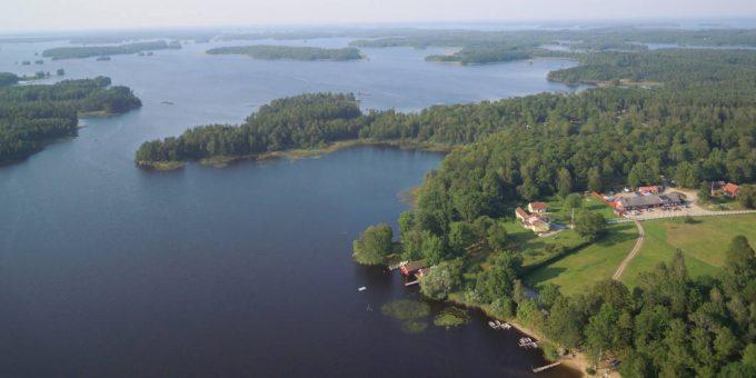 Getnö Gård: Lake Åsnen Resort